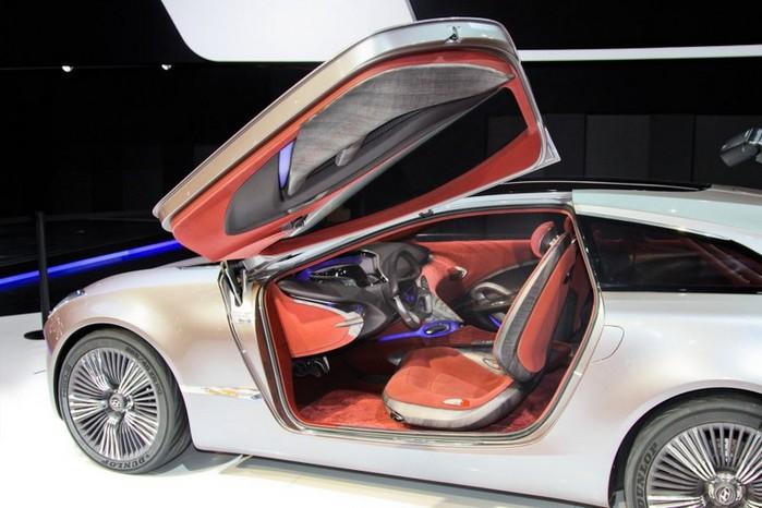 Футуристичный концепт кар I-ioniq от Hyundai 14 (700x466, 79Kb)