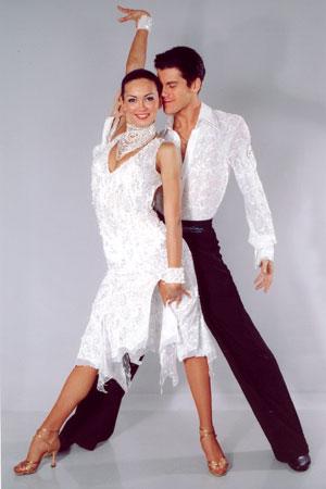 Латина - самое популярное направление танцевальной аэробики.