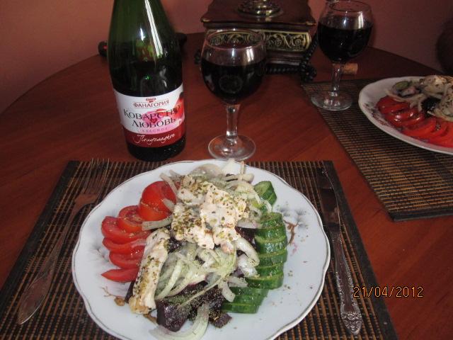 Меткой салаты готовим вкусно быстро