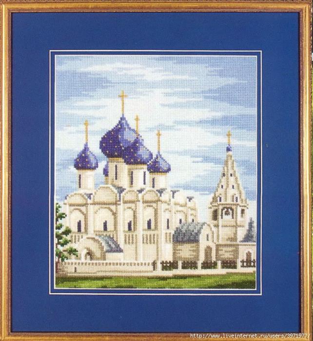 Схема вышивки храма христа спасителя