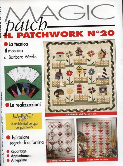 Hors-Serie Patch Flanelle 2003.
