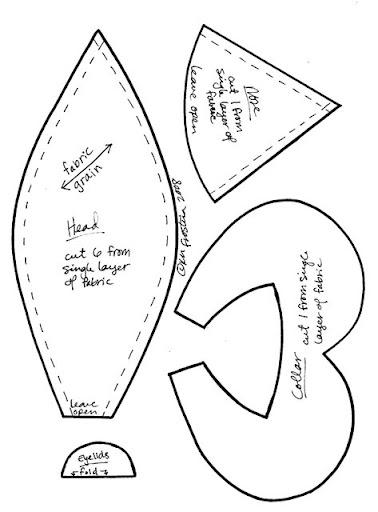 Выкройка репки своими руками из ткани 75