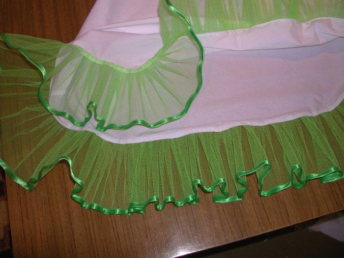 Как сшить нижнюю юбку к платью 921