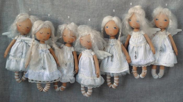 Куклы своими руками ангелочки из 74