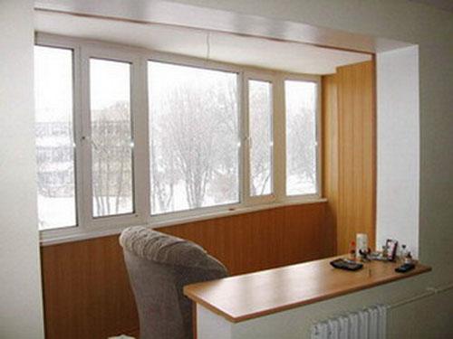 Остекление балконов безрамное.  ТЕМА: Отделка балкона панелями МДФ.  MAXIMUSOKNA.RU.