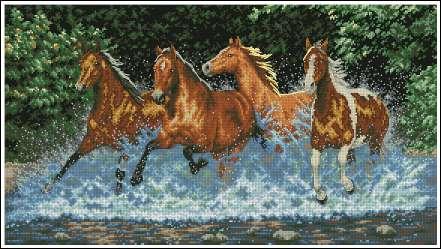 Все фотографии альбома. схемы лошадей.