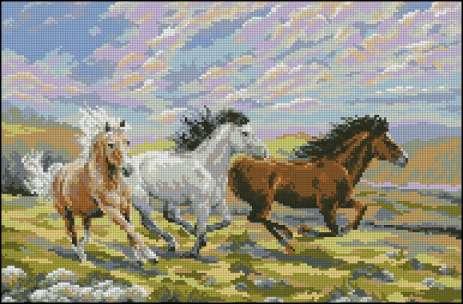 Лошади. 6 схем.