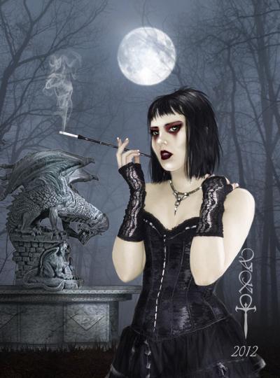 4442645_la_gargola_by_vampirekingdomd4sypis (400x540, 181Kb)