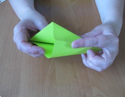 Схема сборки лилии для шара кусудамы для начинающих.