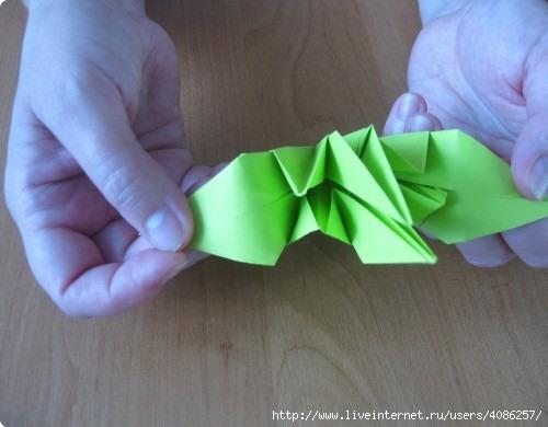 Как сделать лилию для шара кусудамы.  Схема сборки для начинающих.