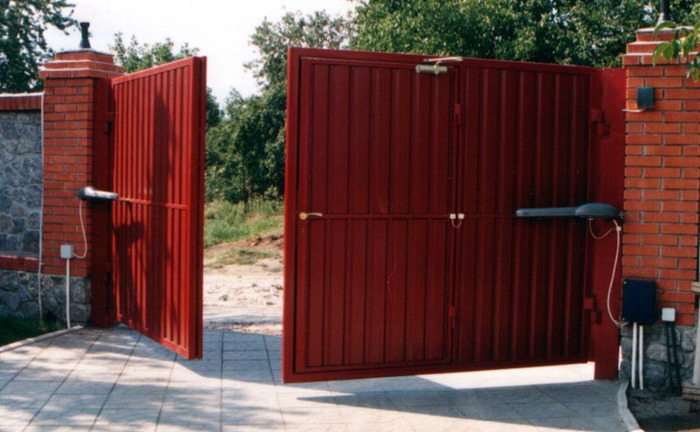 Автоматика для распашных ворот заказать в Горках
