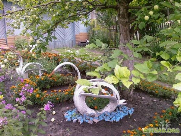 Сайт садовый мир фото украшаем сад своими