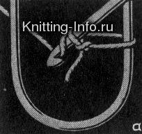 Осваиваем вязание на вилке