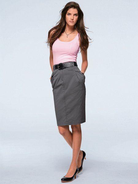 Описание: классический стиль одежды для девушек.