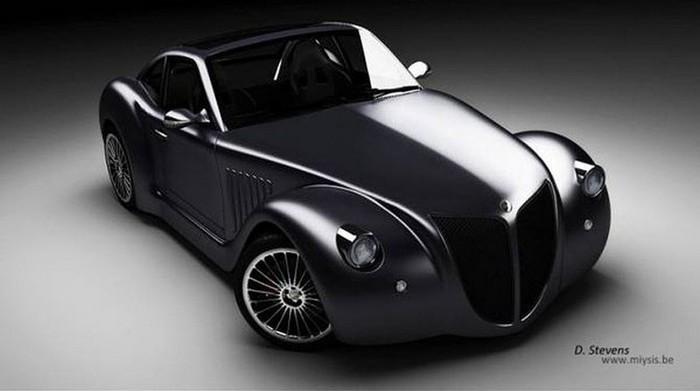Концепт кар в стиле винтаж - Imperia GT 5 (700x391, 41Kb)