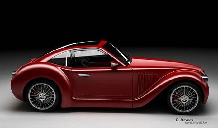 Концепт кар в стиле винтаж - Imperia GT 10 (700x412, 40Kb)