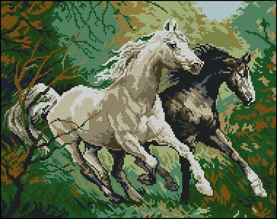 Превью Mustangs Run (570x450,