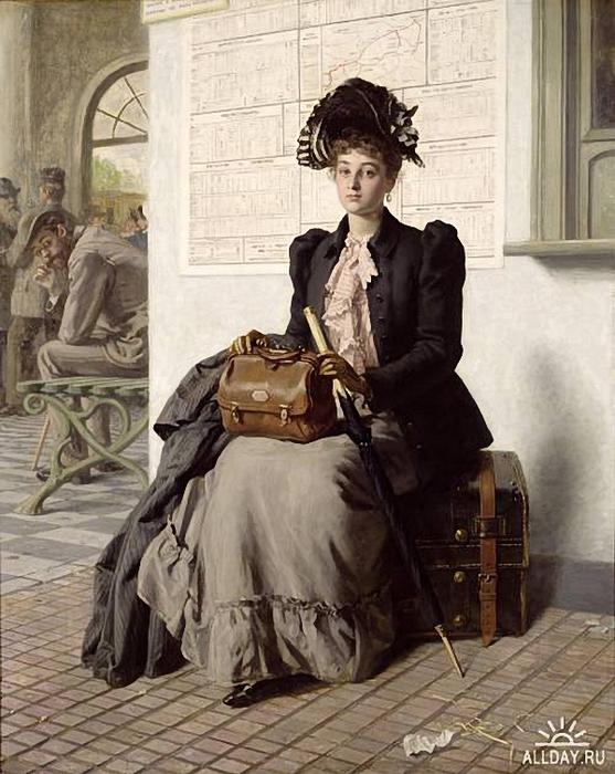 _evert-jan-boks-1838-1914-dutch-going-into-the-world (557x700, 291Kb)