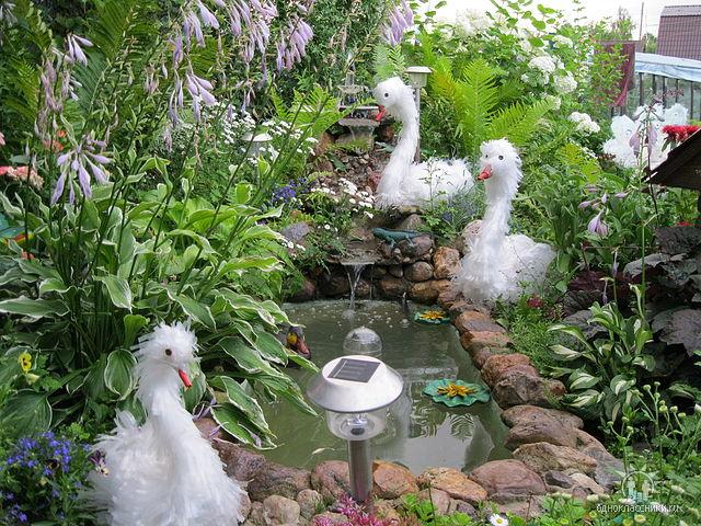 Как садовый участок своими руками фото
