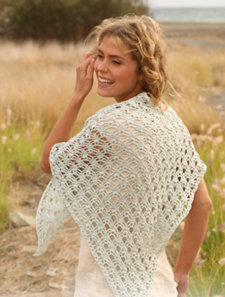 вязание крючком шарфы схемы