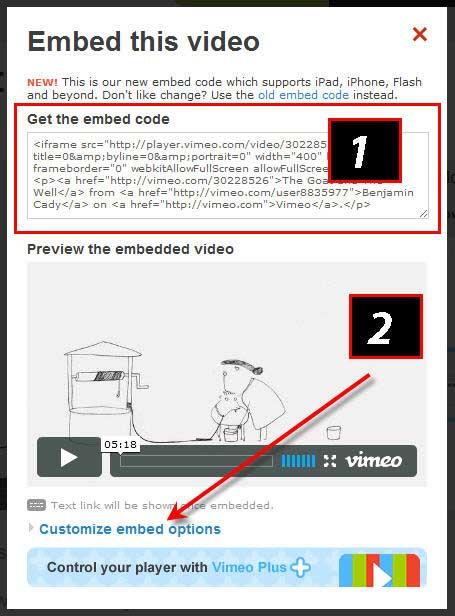 Как вставить, встроить в пост или на сайт видео Vimeo.com/2447247_vimeocode5 (455x616, 42Kb)