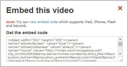 Как вставить, встроить в пост или на сайт видео Vimeo.com/2447247_vimeocode8 (441x232, 18Kb)