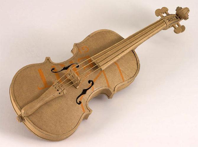 Скрипка сделать своими руками
