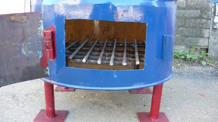 Бочка для сжигания мусора своими руками