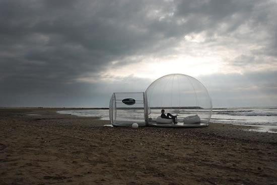 Прозрачные дома - идея для дачи
