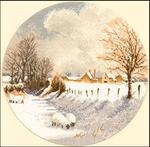Превью JCWS267 - Winter Sheep (410x403, 278Kb)