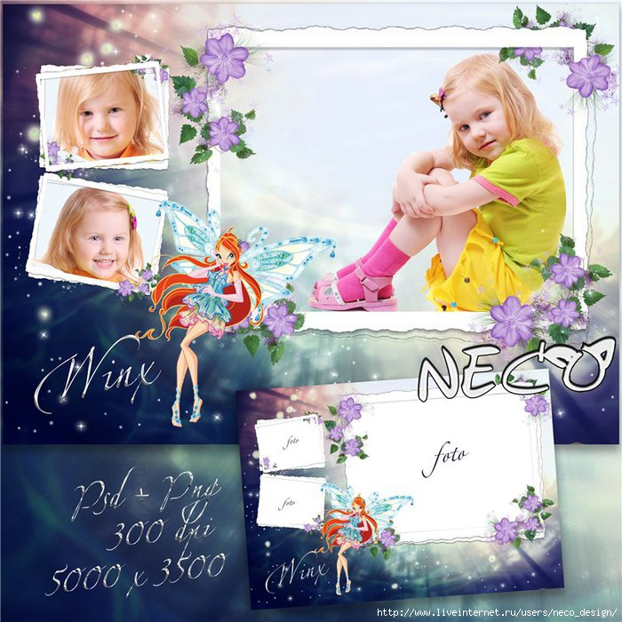 1335616901_Children_frame_with_Winx_Bloom_by_Neco (700x700, 281Kb)