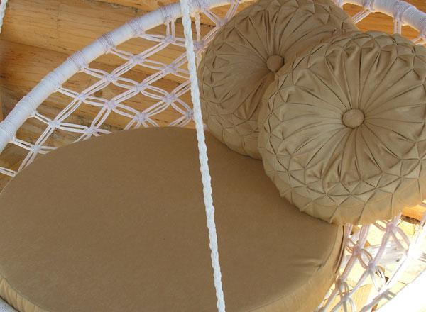 Подвесное кресло макраме Страна Мастеров.