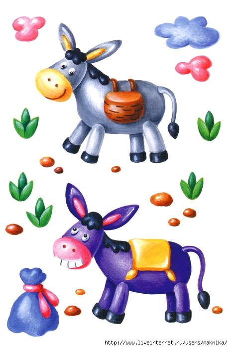 Также в пластилиновом дворе вашего ребенка могут жить корова, собака, кошка из пластилина.
