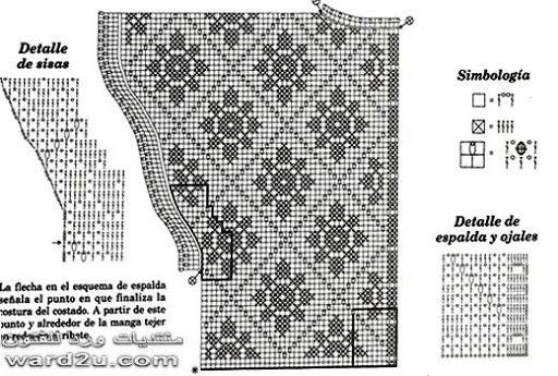 Юбки филейным вязанием крючком схемы