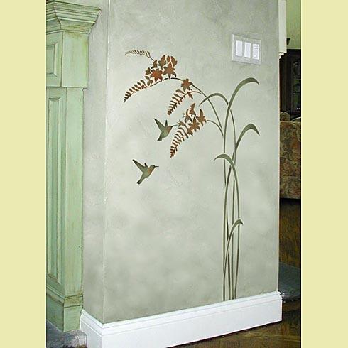 Hummingbird-stencils (490x490, 29Kb)