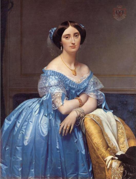 Портрет княгини де Бролье, 1853. (530x700, 47Kb)