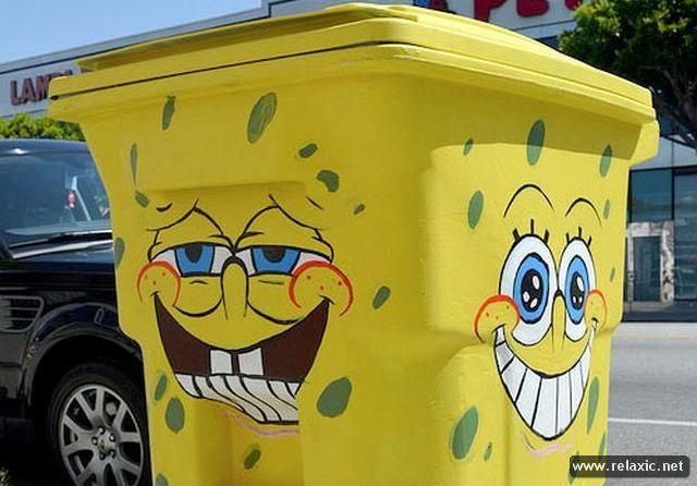 Контейнер для мусора своими руками фото