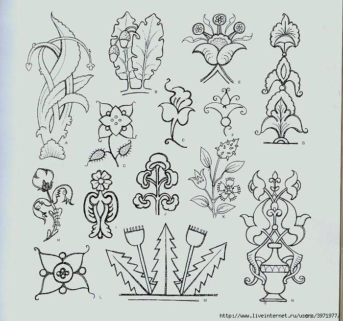 4000 motifs de fleurs et de plantes (47) (700x656, 275Kb)