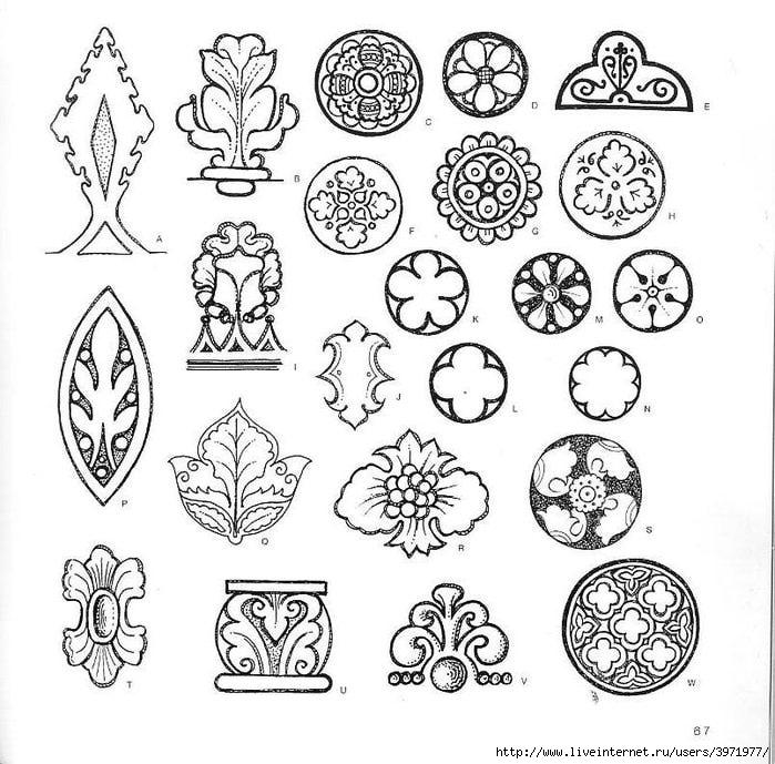 4000 motifs de fleurs et de plantes (55) (700x689, 262Kb)