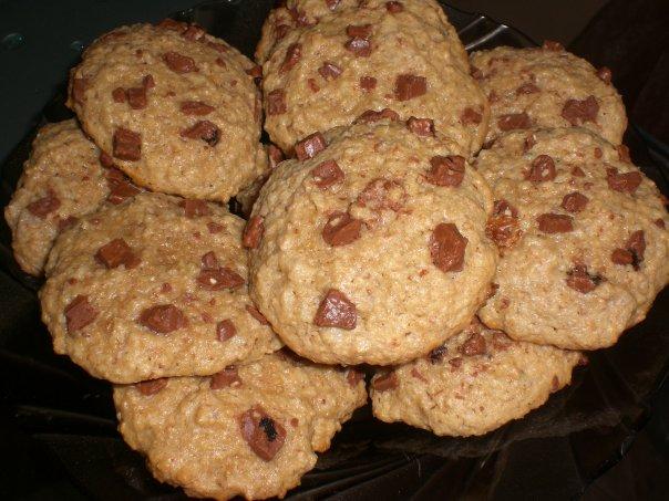овсяное печенье с шоколадом (604x453, 66Kb)