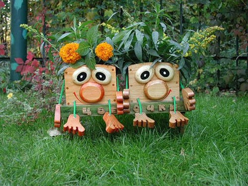 Садовые фигурки своими руками. Идеи ...: www.liveinternet.ru/users/nina62/post216016635