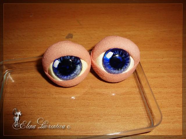 Глазки у кукол своими руками 3