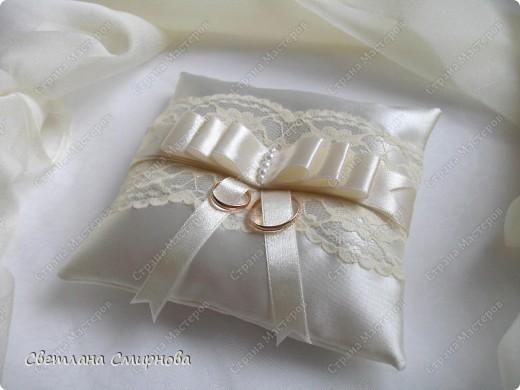 Подушка кольцо своими руками