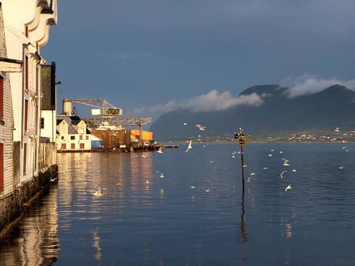 Олесунн - удивительный город Норвегии