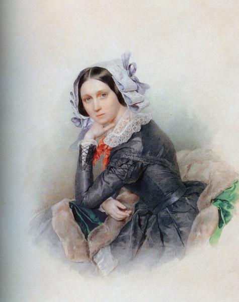 Аделаида (Аглая) Павловна (1799-1882)Голицына, ур. Строганова - фрейлина, кавалерственная дама ордена св. Екатерины меньшего креста, с 1821 года жена князя В.С.Голицына (475x600, 87Kb)