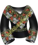 Не перестаёшь удивляться фантазии наших рукодельниц - и опытных, и не очень.  Украинские женские вышиванки.