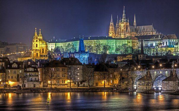 Прага, Чехия (604x377, 55Kb)