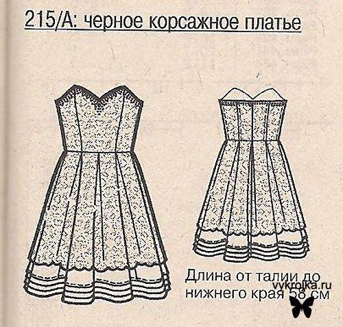 Выкройки платье сарафан лето.