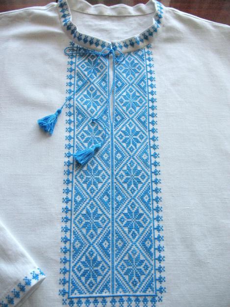 вышивка мужских рубашек схемы