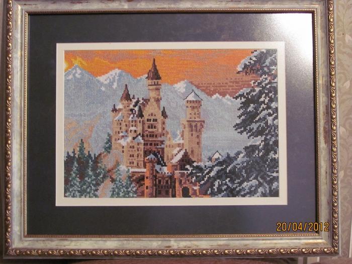 Сказочный замок Нойшванштайн .